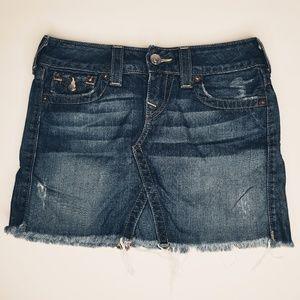 True Religion Jean Skirt - Sadie Style - Size 26